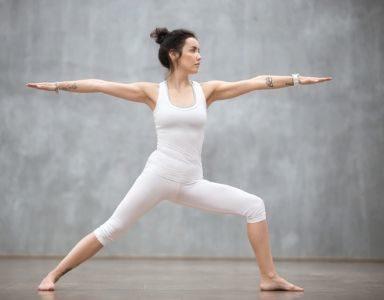 30 day yoga challenge - day 11 - warrior 2