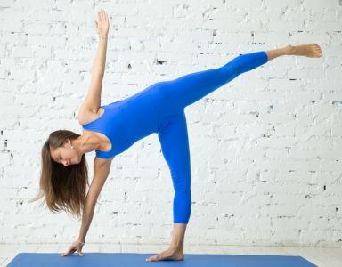 30 day yoga challenge  day 16  half moon pose  healthista