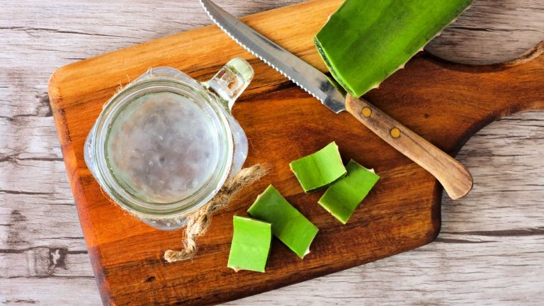 5 foods to keep you young - anti ageing skin - aloe