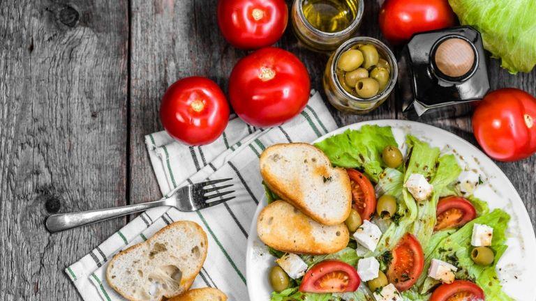 5 steps to a long life - mediterranean diet