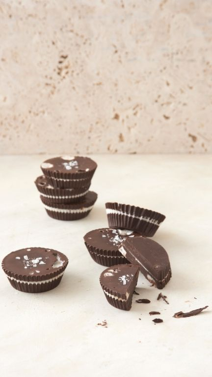 Coconut Butter Cups - Happy Balance