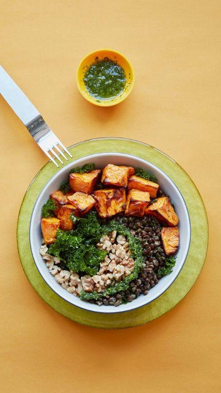 Sweet Potato Bowl - CBD Kitchen Recipes