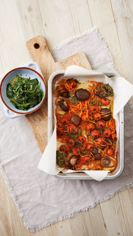 Veggie Breakfast Bake - Happy Balance