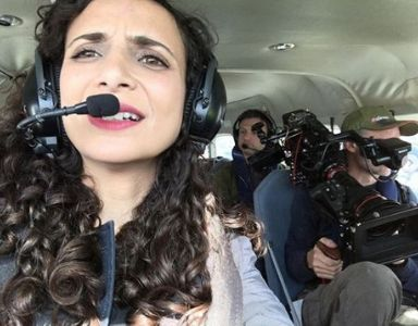 20 solo travel secrets - ella in helicopter