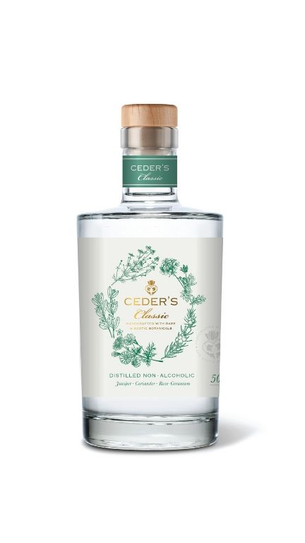 non alcoholic drinks - ceders - best spirit