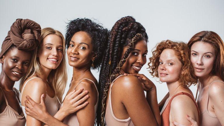 best hair straighteners - how to straighten hair with minimal damage - diverse women - hair types