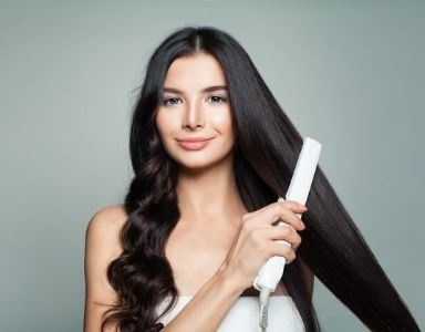 how to straighten your hair with minimal damage - featured