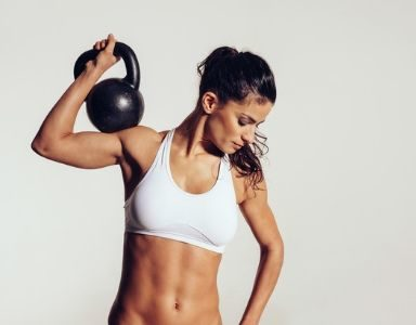 kettlebell workout for abs - featured