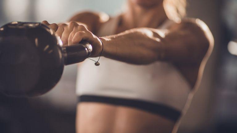 kettlebell workout - glute fat burn - main