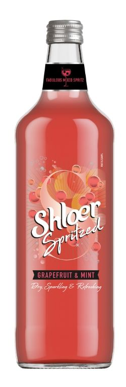 non alcoholic drinks - shloer - best spritzer
