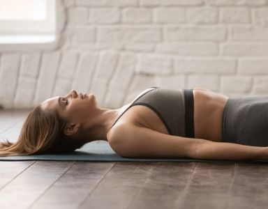 vinyasa flow yoga for sleep - featured