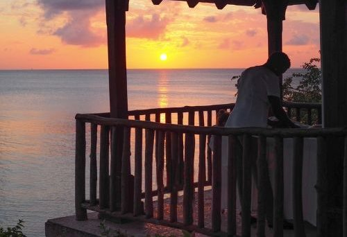 why st lucia should be on your travel list - sunset massage - in post