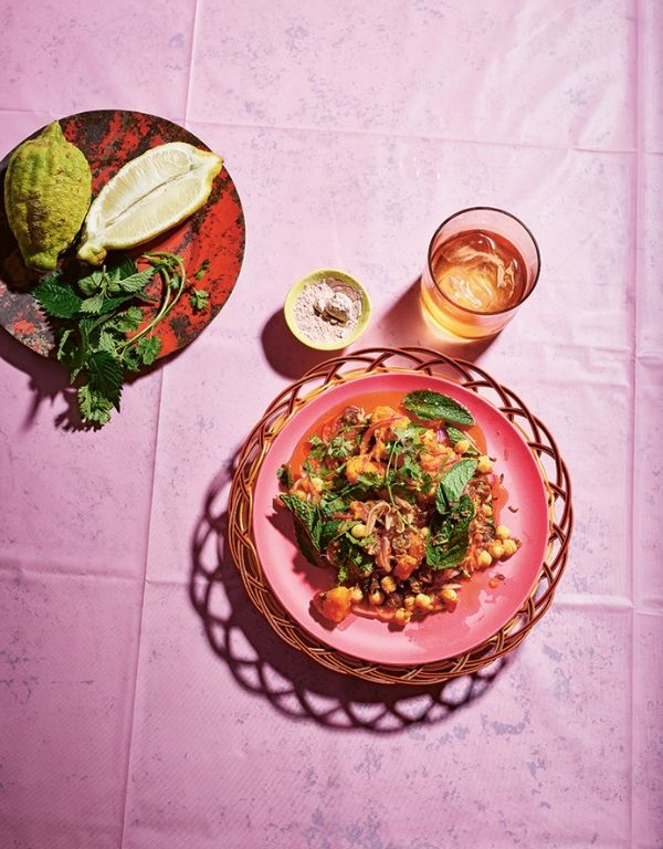 5 vegan recipes with healing spices - sweet potato chaat