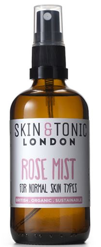 Skin and tonic rose mist