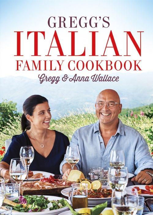easy dinner ideas - greggs italian family cookbook - book jacket