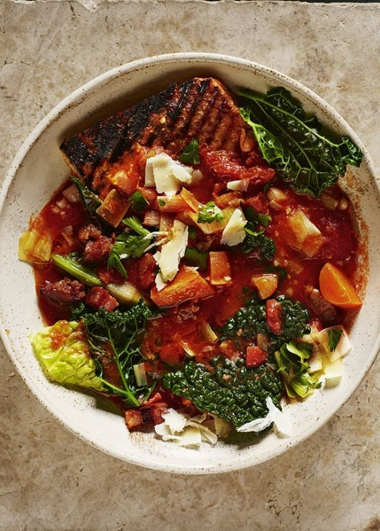 easy dinner ideas - ribollita