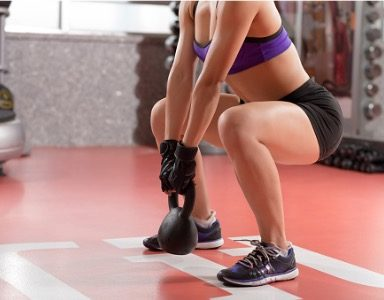 leg workout with kettlebell-weight-exercise-healthista