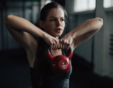 kettlebell workout for arms - featured
