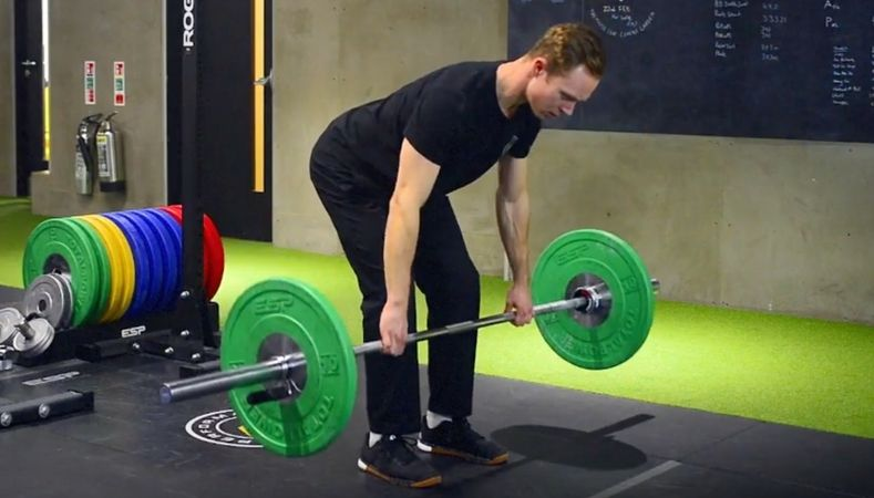 How to do a barbell row – the trainer's guide