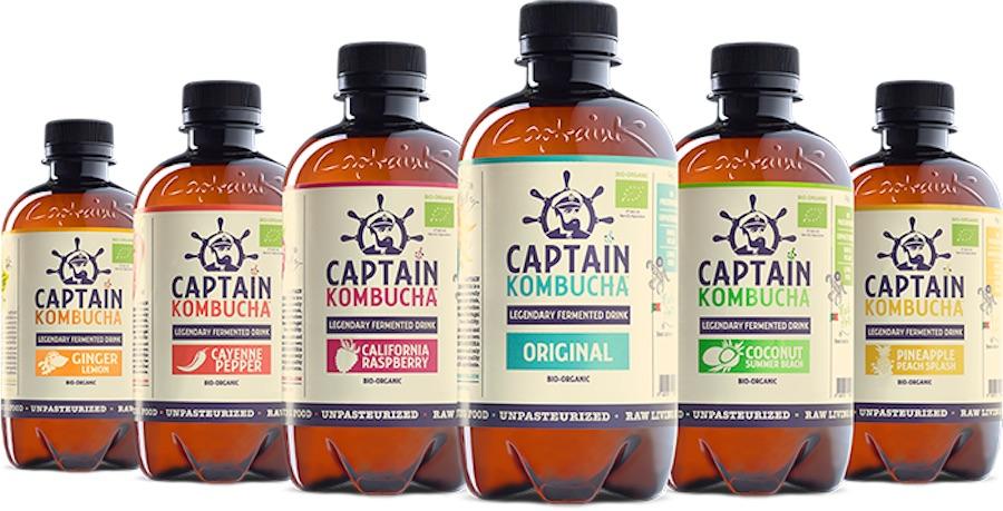 Captain Kombucha best tasting kombucha