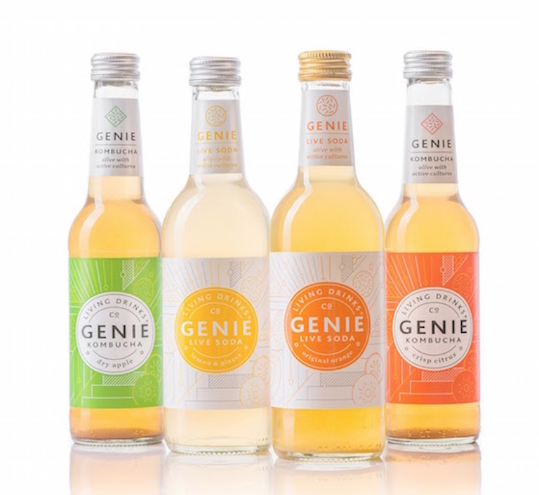 Genie Living Drinks best tasting kombucha