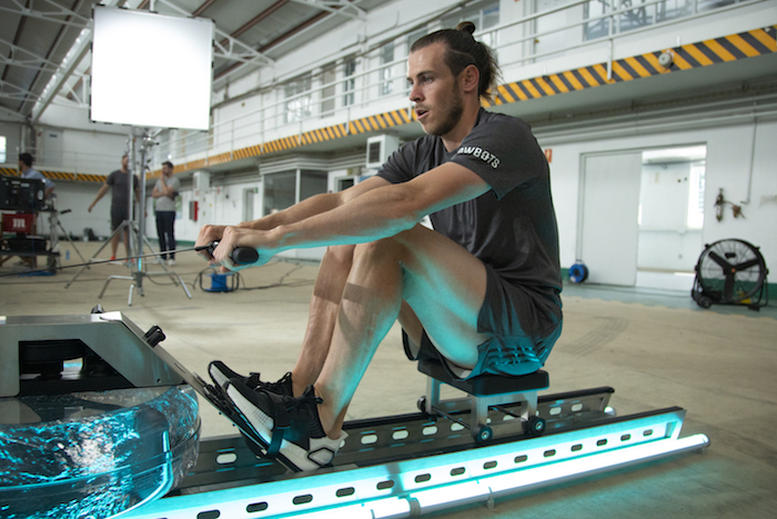 Gareth Bale exercising wellbeing trends 2020