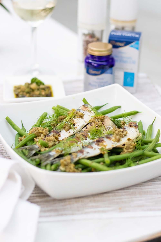 Efamol Griddled Sardines recipe