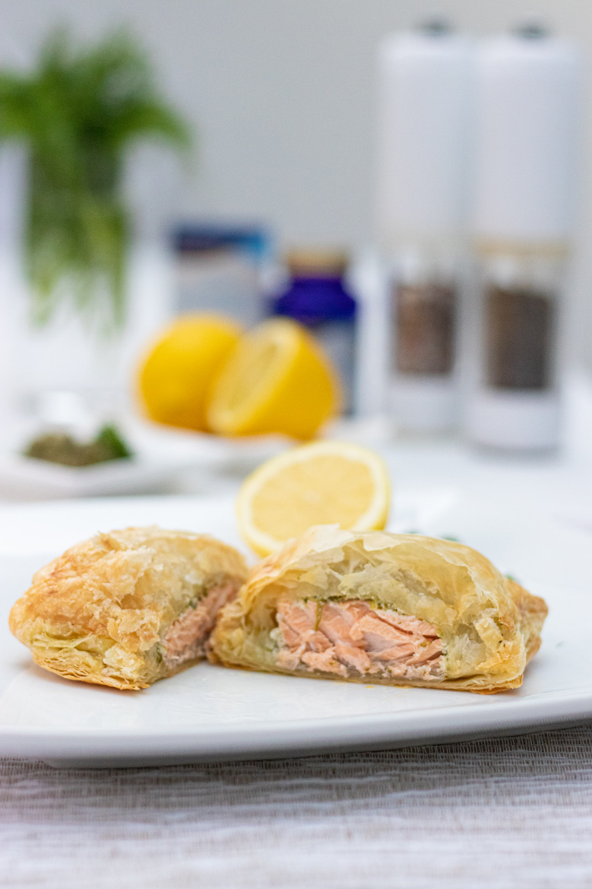 Efamol Salmon Pastry Parcels recipe
