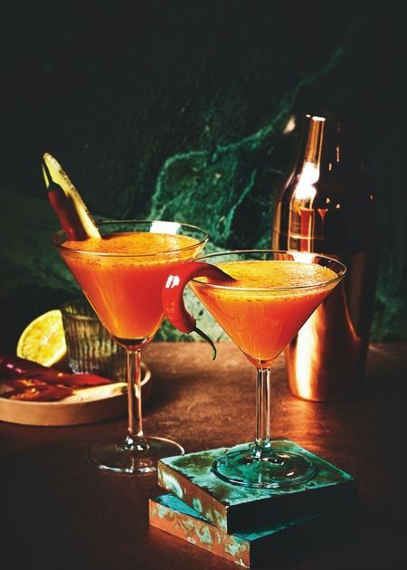 Flu Fighters Martini healthy cocktail recipes healthista