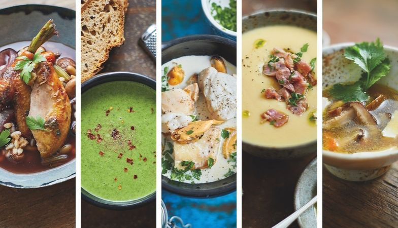 5 healthy soup recipes to warm up your weekend