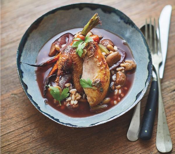 Roast Partridge Soup healthista