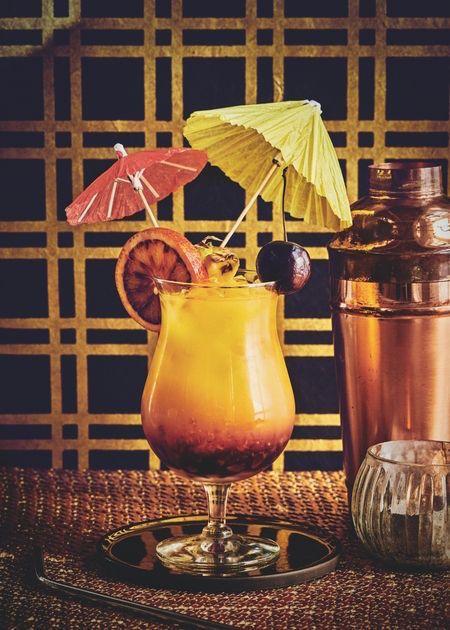 Shoredtich Sunrise healthy cocktail recipes healthista