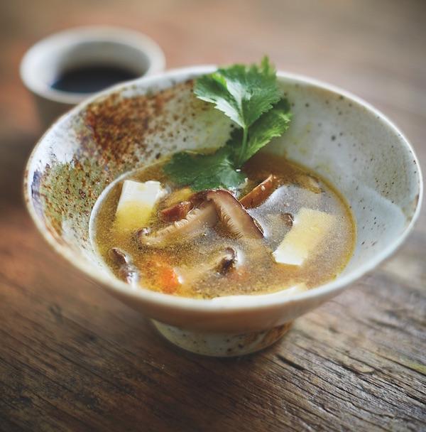 Two mushroom miso soup healthy soups healthista