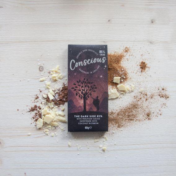 conscious chocolate dark side