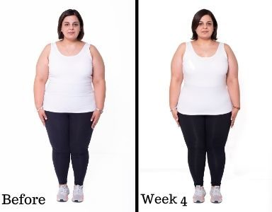 Dina's Transformation week 4 FEATURED