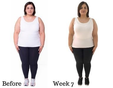 Dina's Transformation week 7 FEATURED