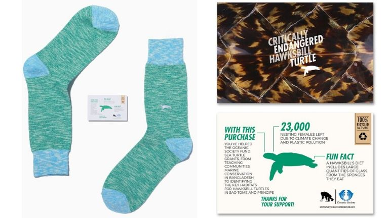 Endangered socks xmas gift guide