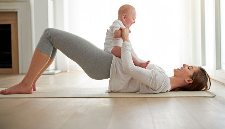 Postnatal Yoga – a 40 minute routine for new mums
