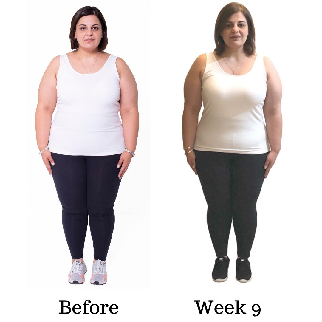 WEEK NINE AND TEN Dinas transformation before and after