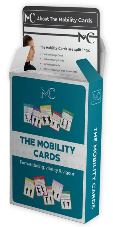 MOBILITY CARDS This low impact core mobility workout can be done in under 10 minutes