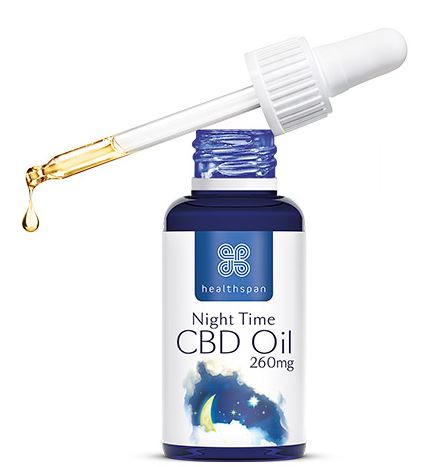 healthspan cbd night oil
