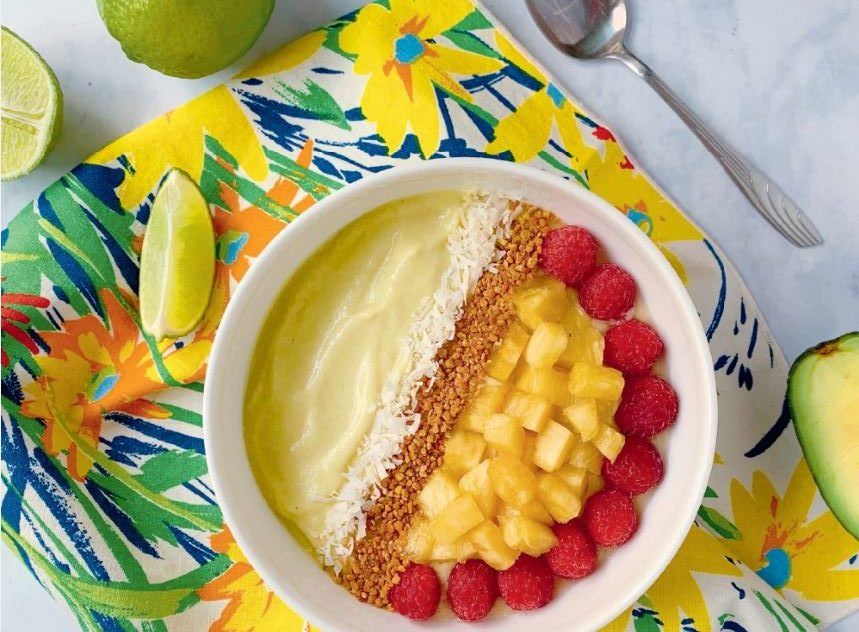 Avacado smoothise bowl Need an energy boost?