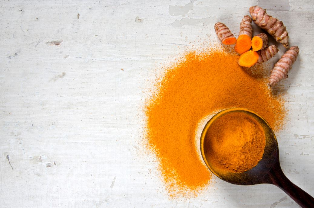 Turmeric anti ageing supplement for skin