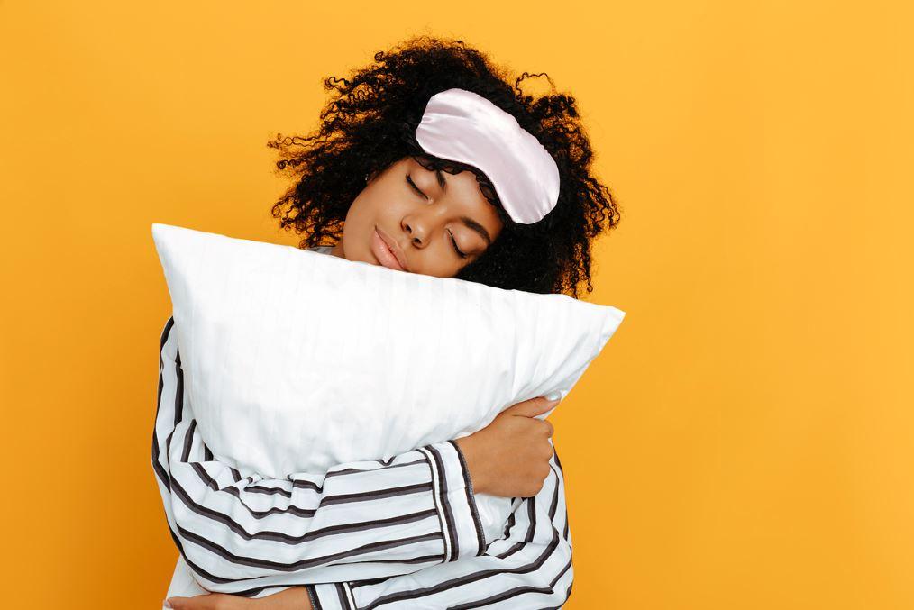woman alseep good quality sleep hormonal imbalance