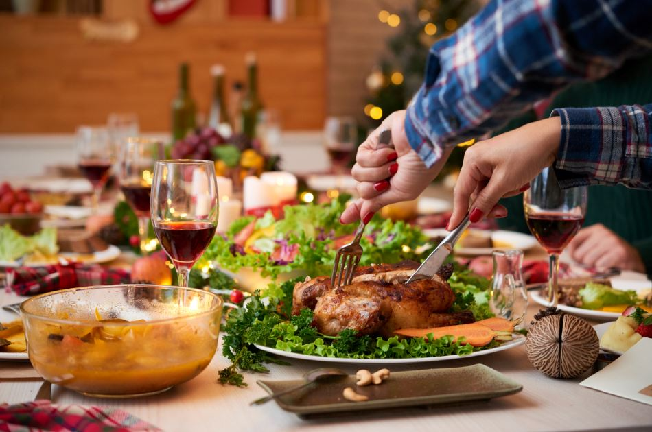 christmas food ibs relief don't overeat