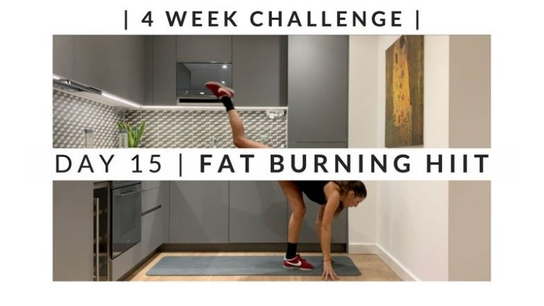 Home Workout Challenge for body and mind day 15 MAIN