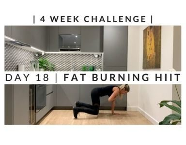 Home Workout Challenge for body and mind day 18 FEATURED