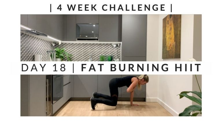 Home Workout Challenge for body and mind day 18 MAIN