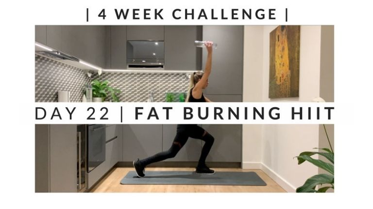 Home Workout Challenge for body and mind day 22 MAIN