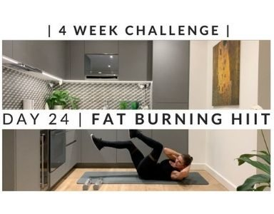 Home Workout Challenge for body and mind day 24 FEATURED